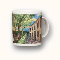 Van Gogh art on a Mug