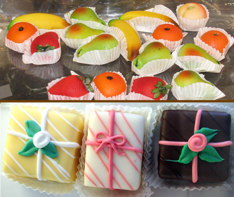 Marzipan and Petits Fours