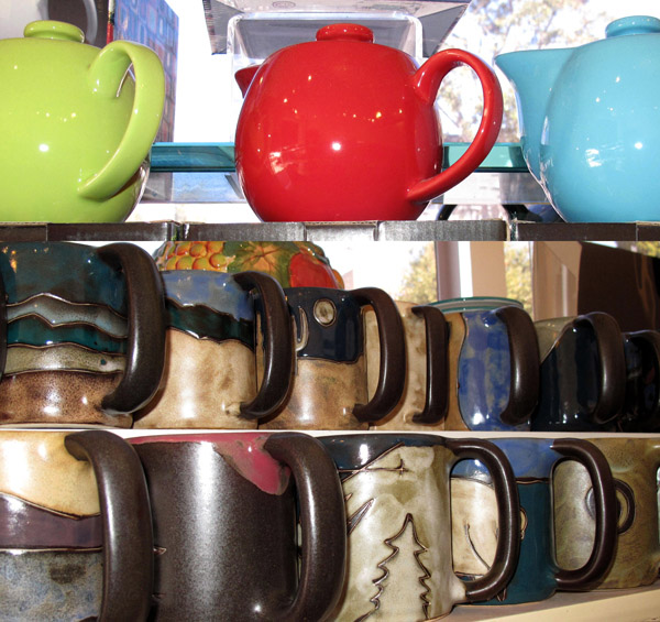 Mugs and Tea Pots