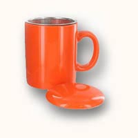 sTeaz Mug with infuser and lid