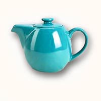 sTeaz tea pot with infuser